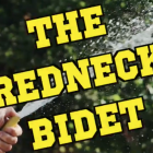 The Redneck Bidet